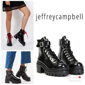🆕️ Jeffrey Campbell Czech Lace-Up Boot